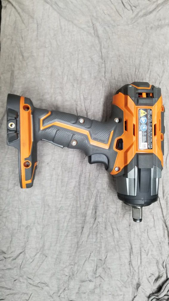 """Ridgid R86011 1/2"""" Impact Wrench w/ 2 Batteries & Charger"""
