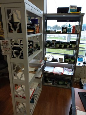 Coaster Trllis Pattern White or Grey Bookcase for Sale in Dallas, TX