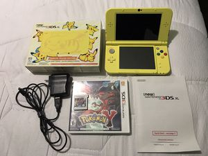 Nintendo 3DS XL Pikachu yellow edition for Sale in GILLEM ENCLAVE, GA