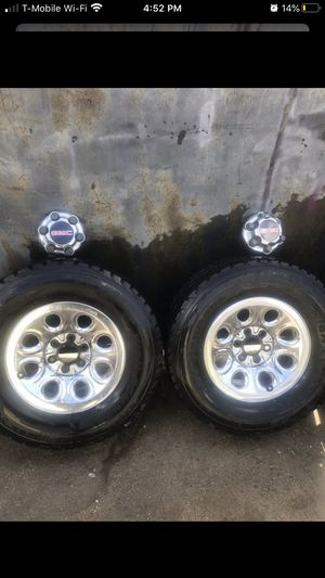 Gmc rims and tires for Sale in Compton, CA
