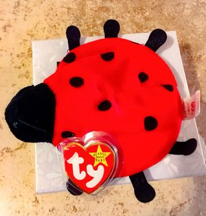 🐞 Vintage Lucky the Ladybug TY Beanie Babie. Original. (Mint) for Sale in Capitola, CA