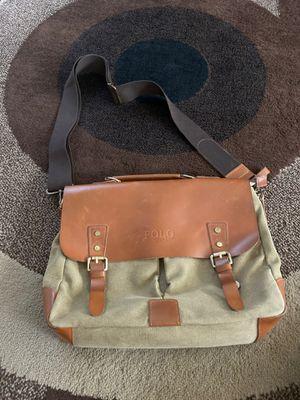 Polo Messenger Bag laptop-iPad Canvas Leather for Sale in Laveen Village, AZ
