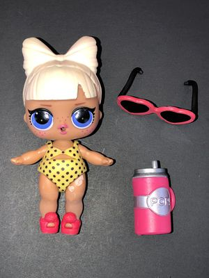 LOL Surprise Doll SPF Q.T. Doll Swimsuit Sunglasses Bottle for Sale in Coppell, TX