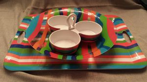 3 pc Outdoor Fiesta Serving Set for Sale in Fresno, CA