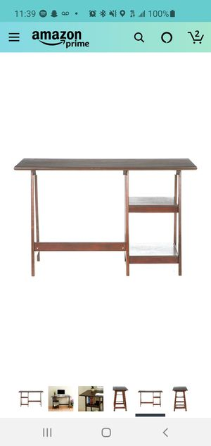"""47""""W Office Desk with Shelves for Sale in Alexandria, VA"""