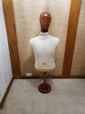 Mannequin stand wooden head foam body light weight sturdy for Sale in Torrance, CA