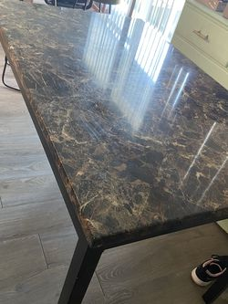 Marble-Effect Dining Table for Sale in Los Angeles,  CA