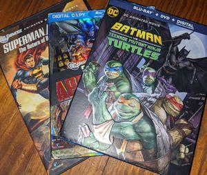 Set of 3 Super Hero DVDs for Sale in Baton Rouge, LA