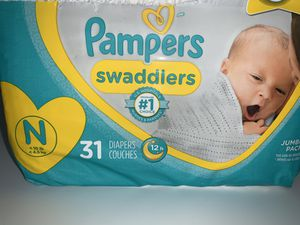 Newborn Baby Diapers for Sale in Riverside, CA