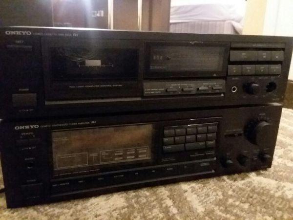 Good stereo equipment. Bose, onkyo, and JVC
