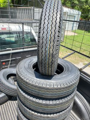 205/90/15 NEW TRAILER TIRES 14PLY FOR 100 DOLLARS EACH for Sale in Houston, TX