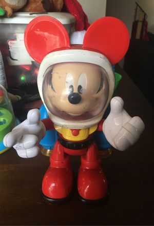 Kids Mickey toy walks and moves for Sale in Columbus, OH