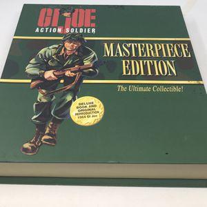 GI Joe Masterpiece Edition Action Soldier Collectible Book Figure NOS NIB for Sale in Pompano Beach, FL