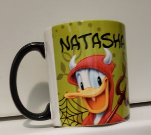Donald duck halloween mug for Sale in Clermont, FL