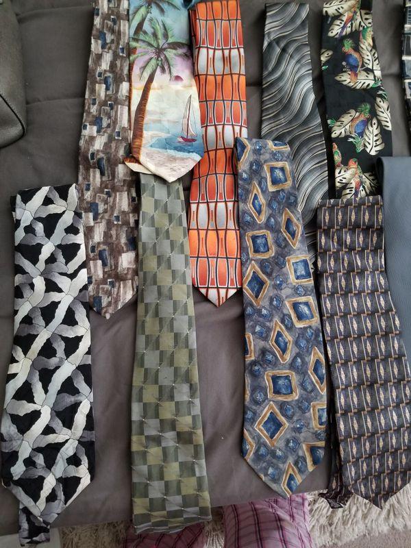 16 Mens silk ties!!!! :)