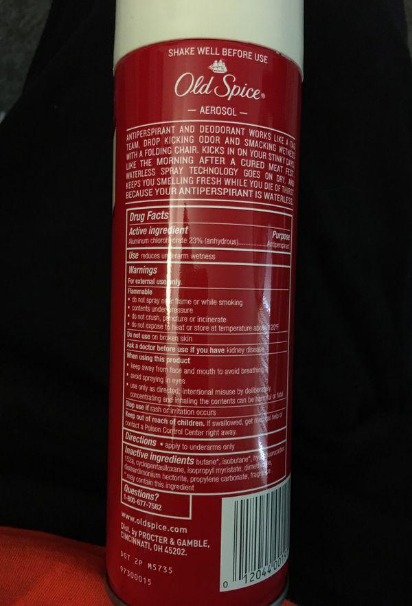 Old Spice Pure Sport Deodorant Spray