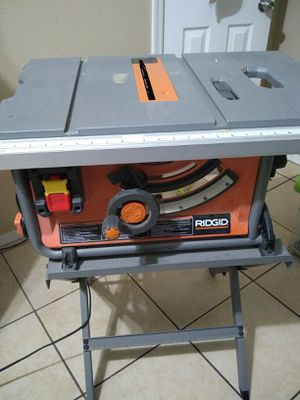 """Table saw ridgid 10"""" for Sale in Tolleson, AZ"""