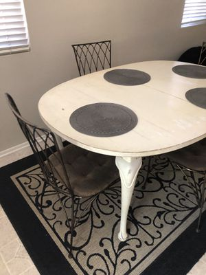Table & 4 Chairs-NEED TO GET RID OF ASAP!!! BEST OFFER!!! for Sale in Upland, CA