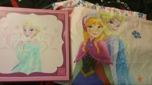 Elsa and Anna disney wall and curtains for Sale in Tyngsborough, MA