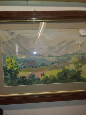 California painting. Listed Artist. for Sale in Chico, CA