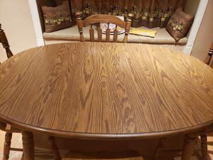 Oak Dinette Set for Sale in Apache Junction, AZ