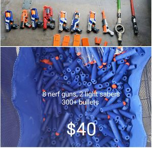 Nerf guns and bullets for Sale in NEW PRT RCHY, FL