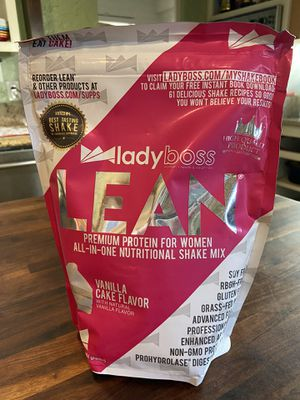LasyBoss Lean protein shake mix for Sale in Oceanside, CA