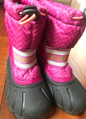 Sorel girl winter boots - size 10 for Sale in St. Charles, IL