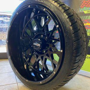 24x12 Wheels 8x6.5 & 305 /35/24 Az 800 Brand New for Sale in Elgin, IL