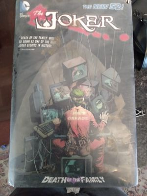 """The Joker Death of the Family"""" Graphic Novel for Sale in Tacoma, WA"""