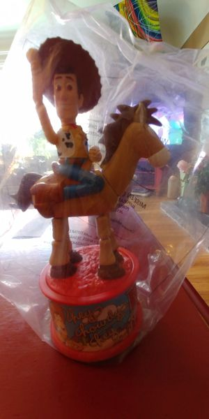 Disney Woody and Bullseye Candy Dispenser for Sale in Tacoma, WA