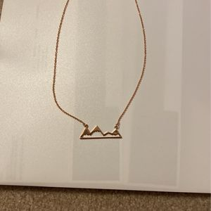 Rose Gold Mountain Necklace for Sale in Nashua, NH