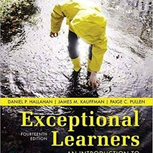 Exceptional Learners An Introduction to Special Education 14th Edition ebook PDF for Sale in Ontario, CA