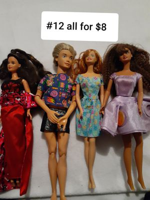 #12 BARBIE ALL FOR $8 for Sale in Las Vegas, NV