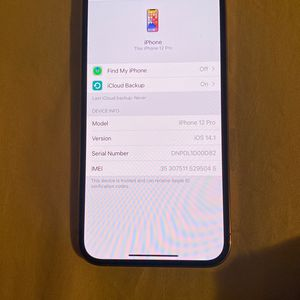 iPhone 12 Pro Brand New With Box !! 800$ Lowest for Sale in Reading, PA