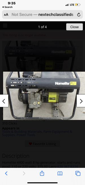 generator for Sale in Romulus, MI