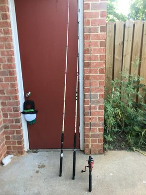 Nice fishing poles for Sale in Raleigh, NC