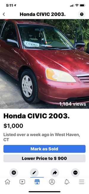 HONDA CIVIC 2003 for Sale in New Haven, CT