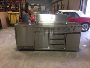 Outdoor kitchen bbq grill island for Sale in Hialeah, FL