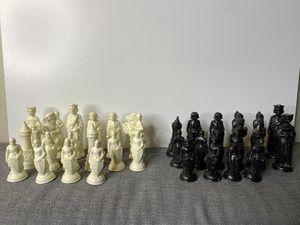 Vintage E S Lowe ANRI Renaissance Chess Pieces for Sale in Sacramento, CA