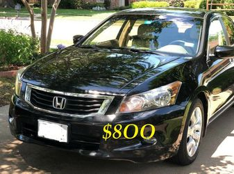 ✅✅💲8OO URGENT Selling By Owner 2OO9 💚 Honda Accord Sedan EX-L Runs and drives great.Clean title! Mechanically perfect. very strong V6!!🟢🟢 for Sale in Long Beach,  CA