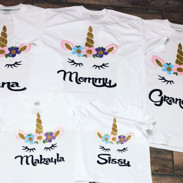 298e63f17 Unicorn birthday shirt and family shirts for Sale in Spring, TX ...