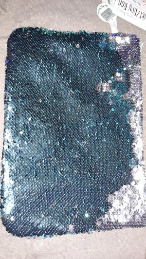 NWT Sequin Cosmetic Bag for Sale in Winston-Salem, NC