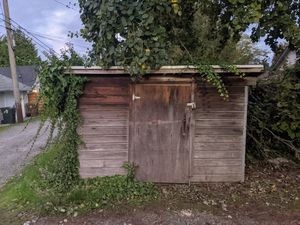 "Wooden shed 90""×110""×75"" for Sale in Tacoma, WA"
