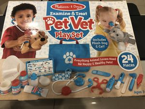 Examine and treat Pet Vet playset from Melissa & Dough for Sale in Miami, FL