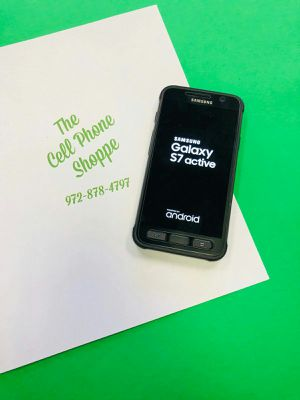 Samsung Galaxy S7 Active Unlocked For Sale! for Sale in Carrollton, TX