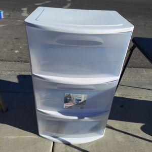 Sterlite 3 Drawer Wide Organizer for Sale in North Las Vegas, NV