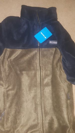 New men's Columbia full zip 2 size m for Sale in Cleveland, MS