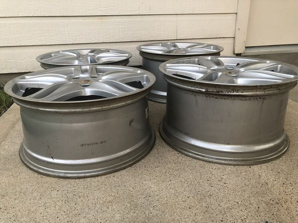 "4 Porsche Panamera turbo wheels 19"" OEM"