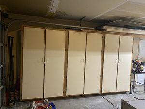 Large garage cabinets for Sale in Oakdale, CA